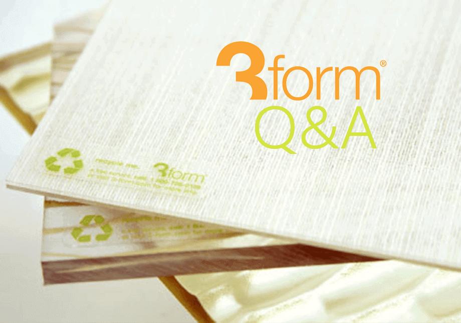 3Form Q&A